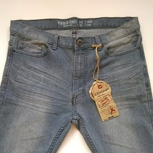 Vintage Genes slim fit comfort stretch jeans 34x32